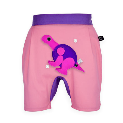 DINO SET - Rosa short pants with DINO Toy