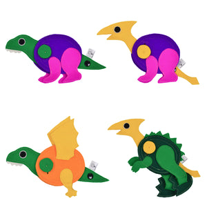DINO EGG Backpack with 3 DINO Toys