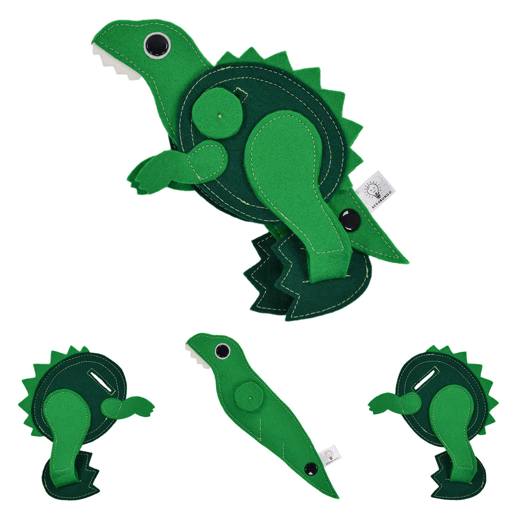Applique for clothes and backpacks - T-REX