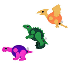 Load image into Gallery viewer, DINO EGG Backpack with 3 DINO Toys