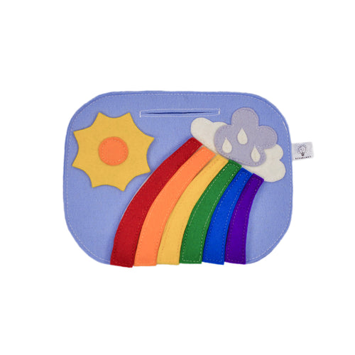 Applique for clothes and backpacks - RAINBOW