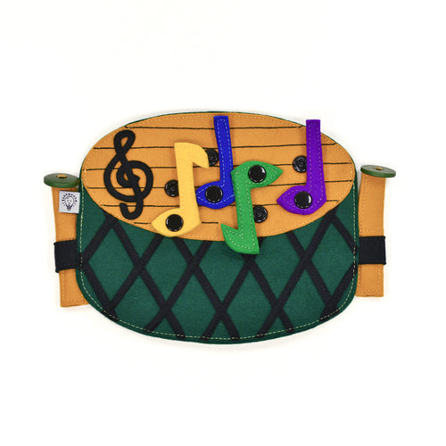 Applique for clothes and backpacks - DRUMS