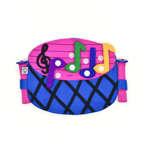 Audio-visual toy - DRUMS