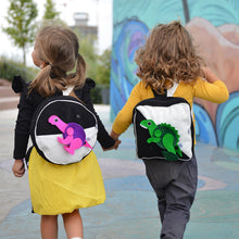 Load image into Gallery viewer, Wear & Play - Circle Backpack with a DINO TOY