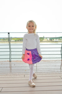 3D SET - Rosa & lila skirt with 3D Toy