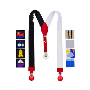 Interactive TRAFFIC suspenders
