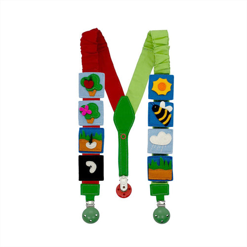 Interactive NATURE suspenders