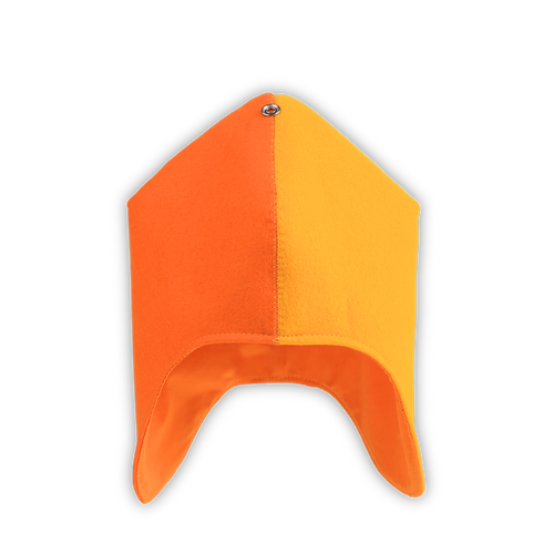 Winter Cap - ORANGE & YELLOW