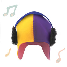 Load image into Gallery viewer, Winter Cap - DJ yellow and purple
