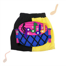 Load image into Gallery viewer, BAND SET - Yellow & black skirt with BAND Toy