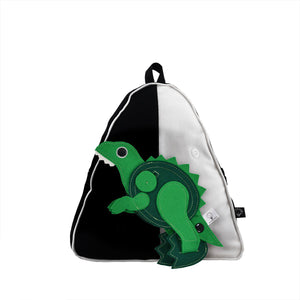 DINO SET - Triangle Backpack with DINO TOY
