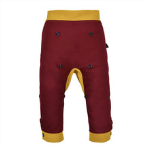 Load image into Gallery viewer, DINO SET - Trousers duo colori with DINO Toy - Bordeaux love
