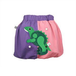 DINO SET - Rosa & lila skirt with DINO Toy