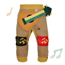 Load image into Gallery viewer, BAND SET - Trousers duo colori with BAND toy - Beige beige baby