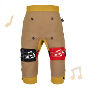 BAND SET - Trousers duo colori - Beige beige baby