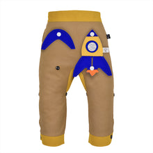 Load image into Gallery viewer, 3D SET - Trousers duo colori with 3D Toy - Beige beige Baby