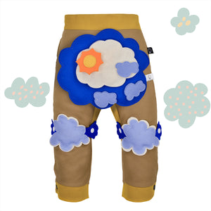 STORMY SET - Trousers duo colori - Beige beige baby
