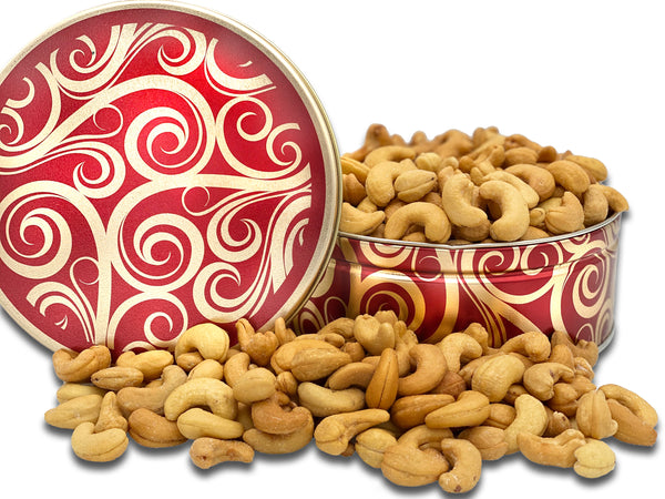 Extra Large Whole Cashews - Gift Tin-Gift Tins-We Are Nuts!