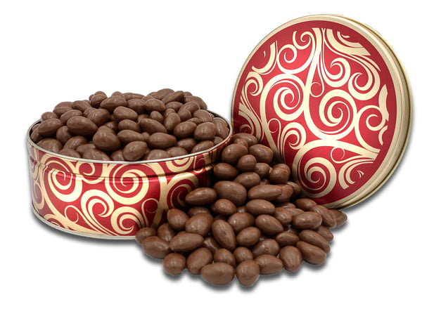 Milk Chocolate Covered Almonds - Gift Tin-Gift Tins-We Are Nuts!