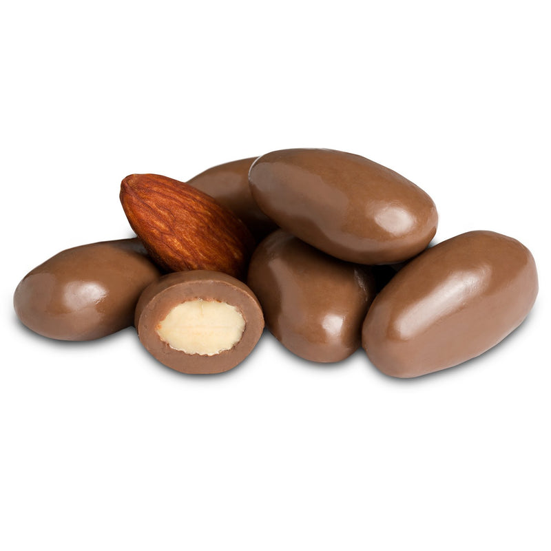 Milk Chocolate Covered Almonds (16 oz)-Nuts-We Are Nuts!