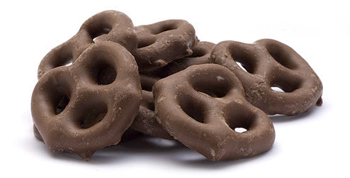 Chocolate Covered Pretzels (12 oz)-Nuts-We Are Nuts!