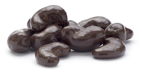 Dark Chocolate Covered Cashews (16 oz)-Nuts-We Are Nuts!