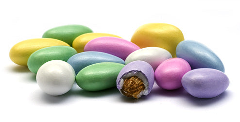 Jordan Pastel Candied Almonds (16 oz)-Nuts-We Are Nuts!