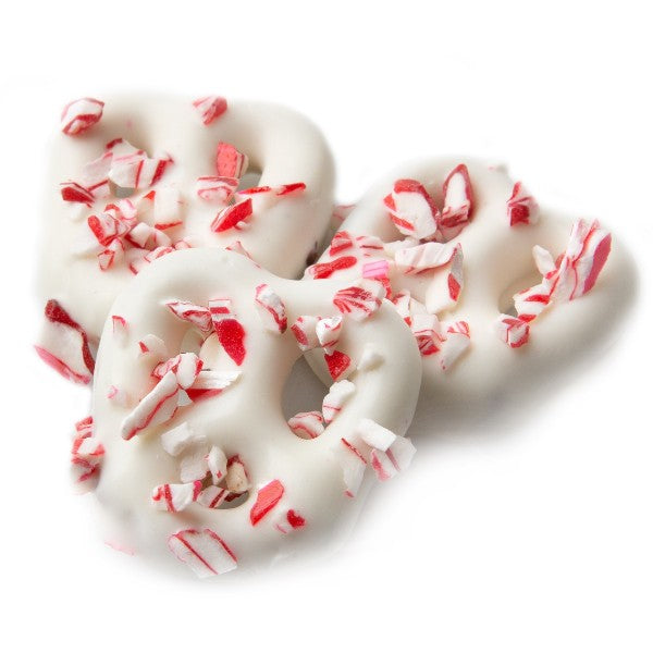 Peppermint Pretzels (16 oz)-Nuts-We Are Nuts!