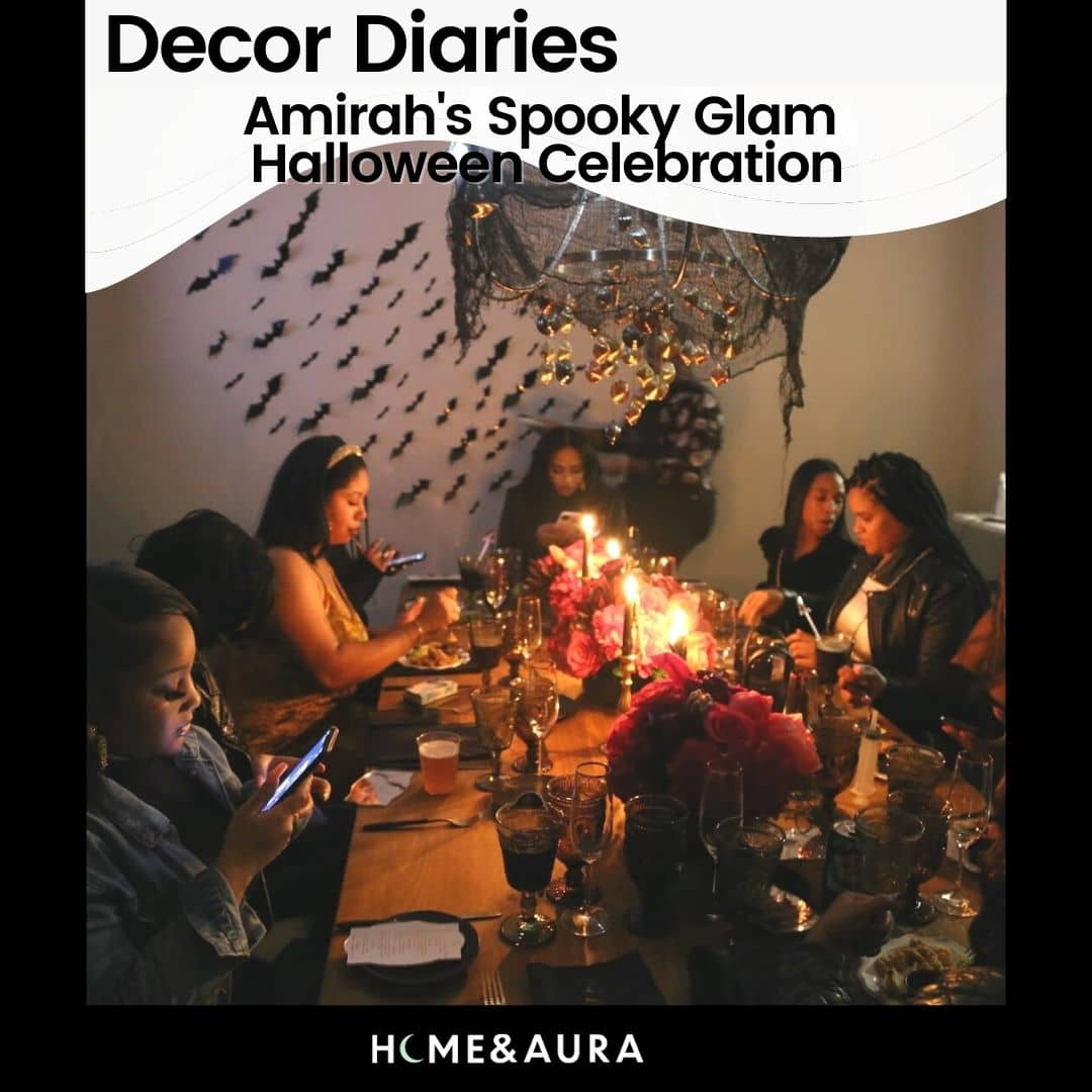 Decor Diaries: Amirah's Spooky-Glam Halloween Dinner Party