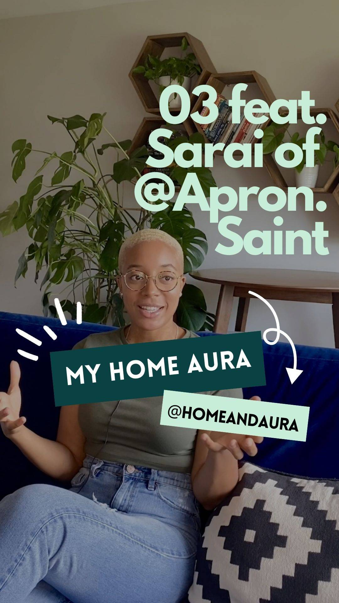My Home Aura S1E3: Sarai's (Apron Saint) 513 sq ft Washington, DC Condo