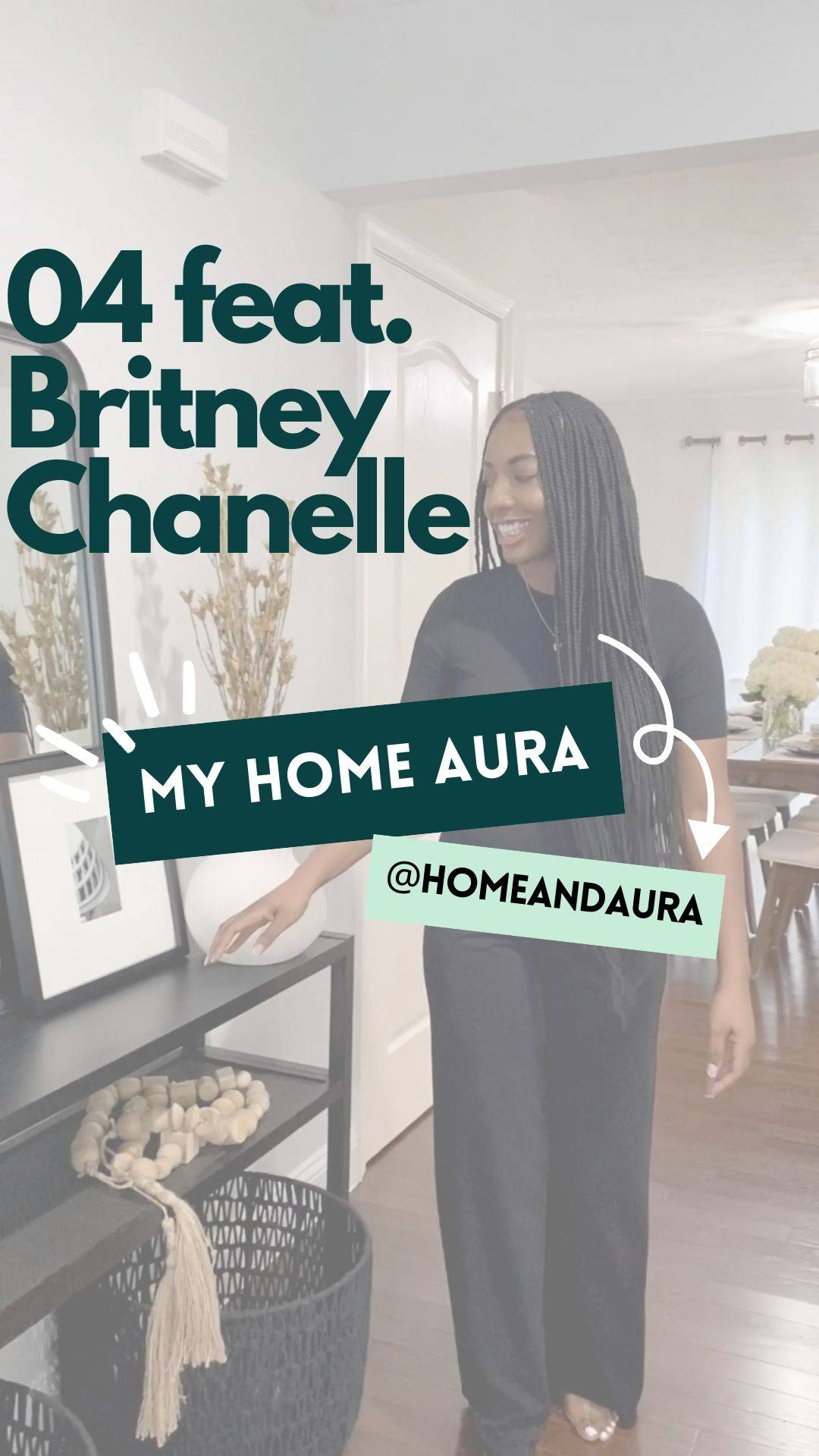 My Home Aura S1E4: Britney's Hyattsville, MD Townhouse
