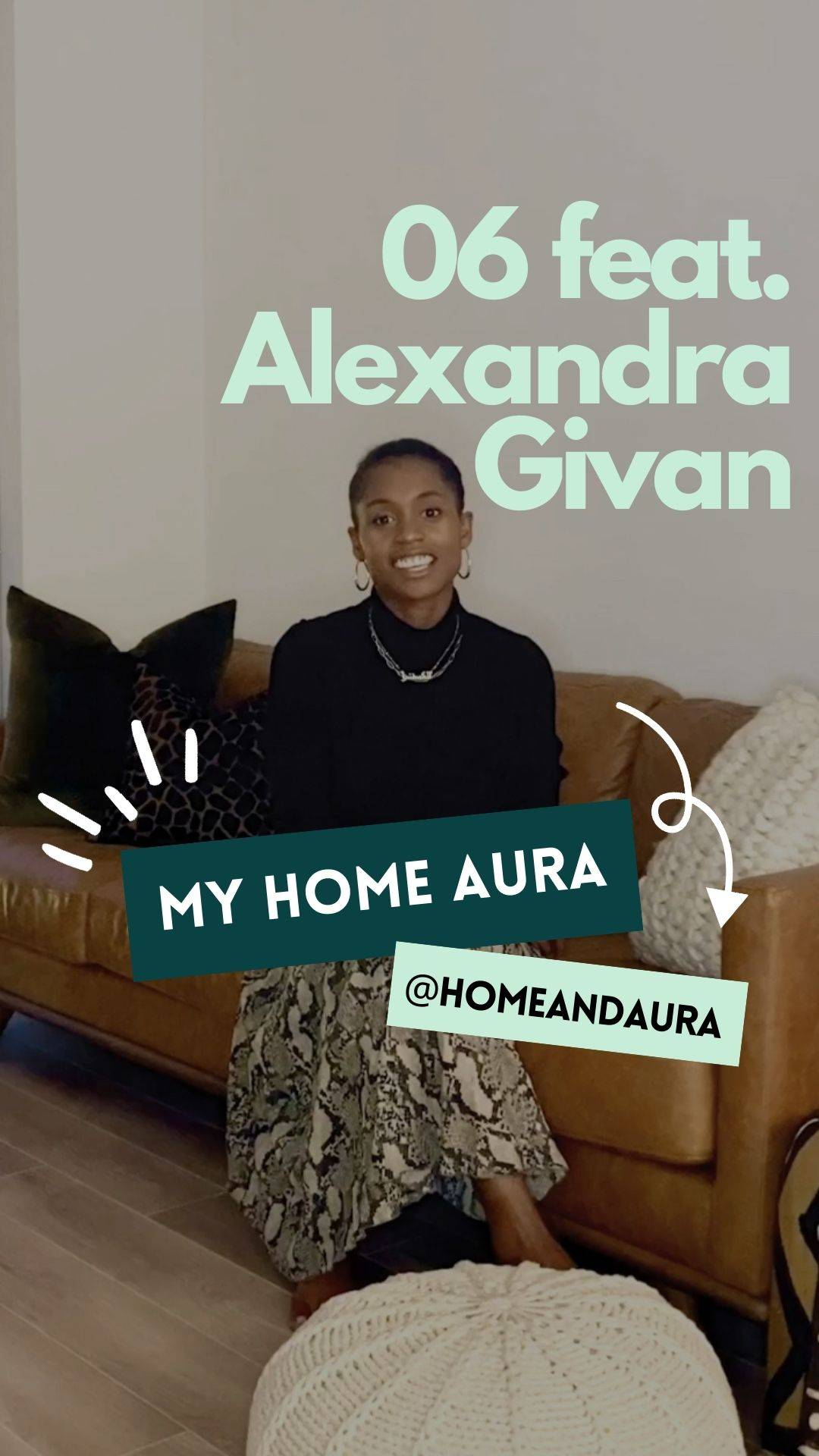 My Home Aura S1E6: Alex's Washington, DC Apartment