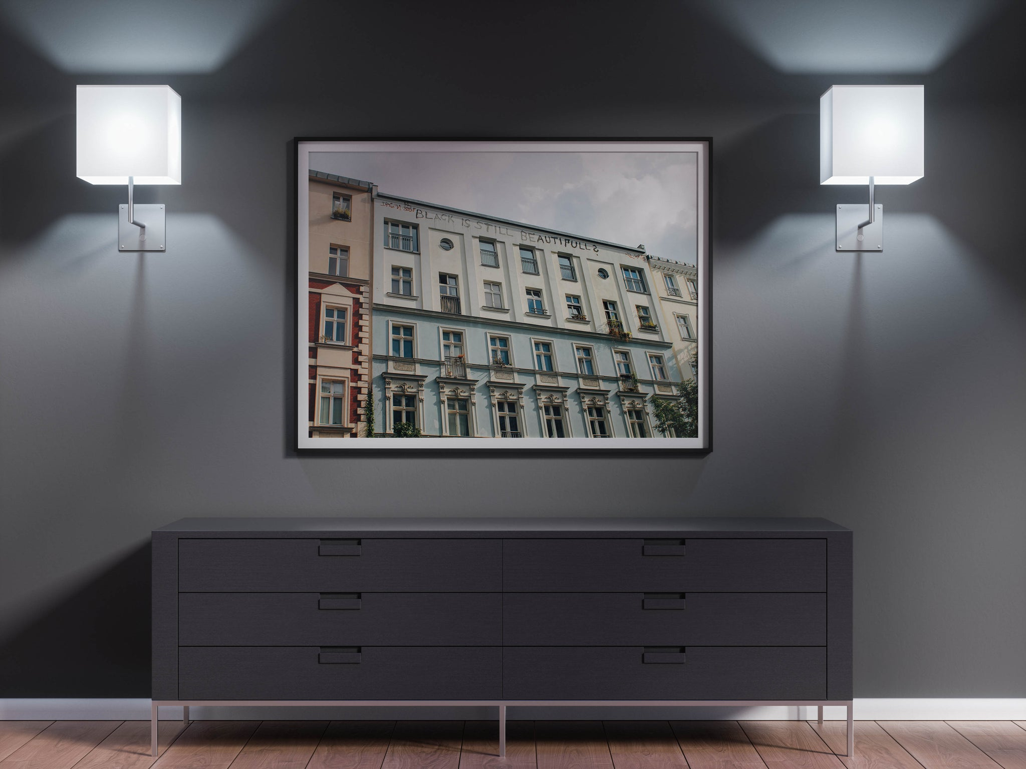 Berlin Black is Beautiful Fine Art Print