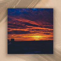Brentwood Sunset Fine Art Print