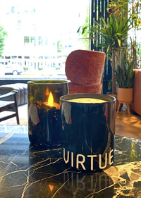 Virtue Essentials - Scented Candle - Issue 001 - White tea, rosemary, and coconut