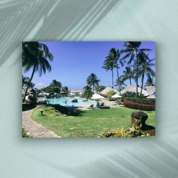 Mo'orea Resort Fine Art Photography Print