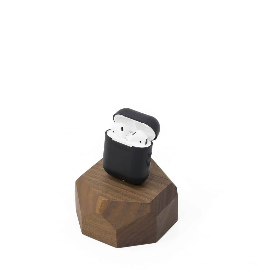 AirPods Wooden Charging Dock Tech Dock Oakywood