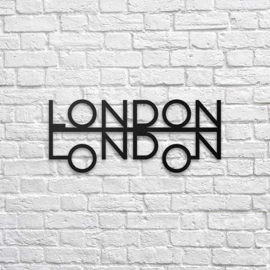 London Metal Wall Art Wall Art Northshire Wall Art