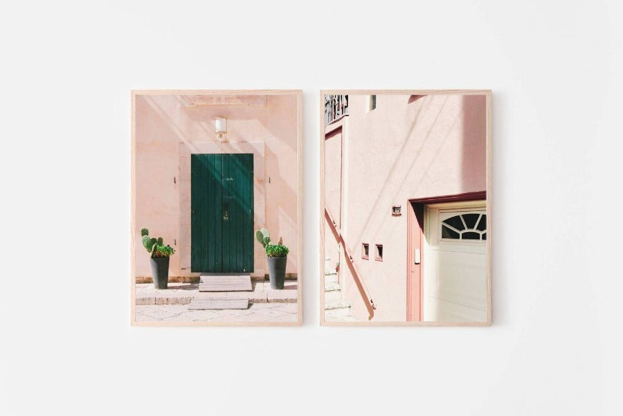 Set of 2 Architectural Photography Prints (#153) Wall Art Kate N' Paul Art