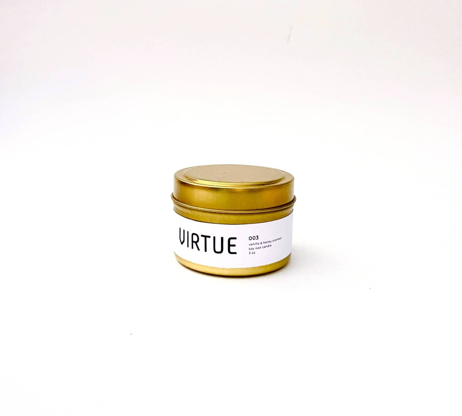 Virtue Essentials - Mini Candle - Issue 001 - white tea, rosemary, and coconut