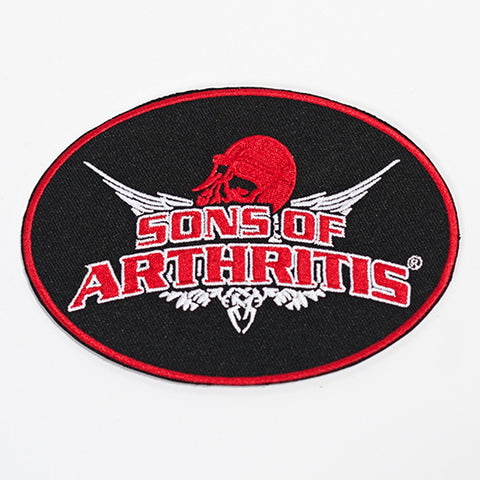 "Sons of Arthritis 13"" X 8"" Patch"