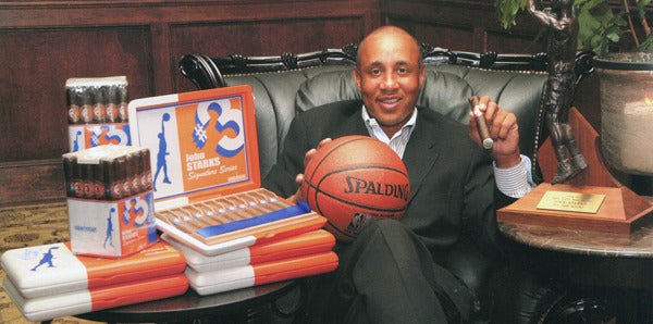 Smoke with NY Knicks Legend John Starks at the Grand Havana Cigar Club