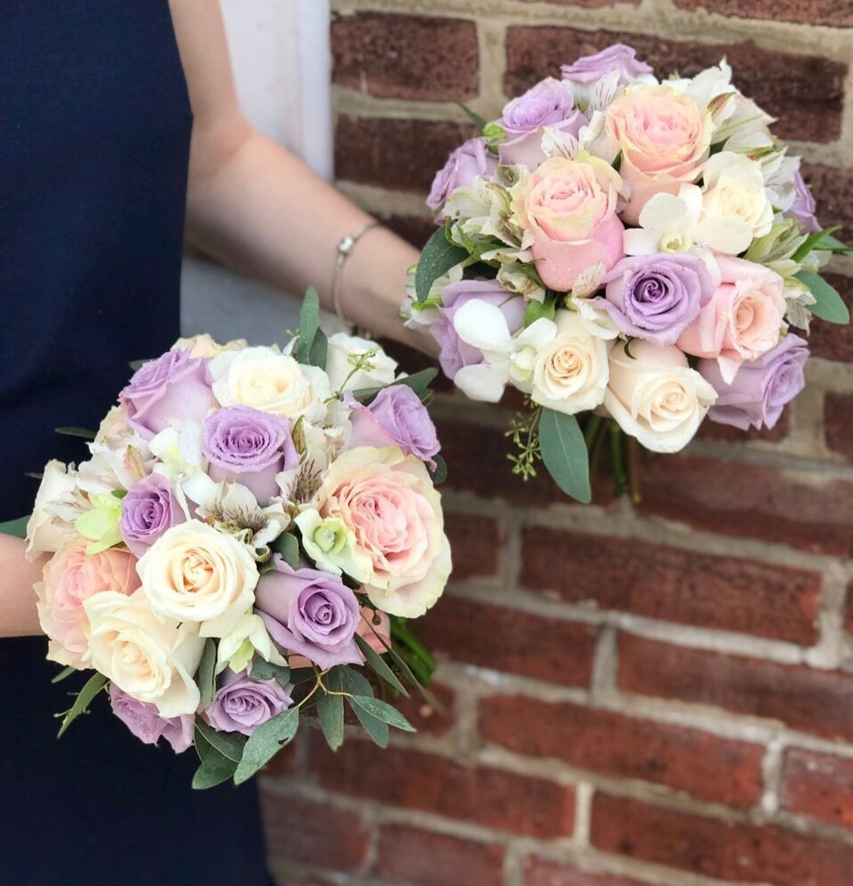 """Always you"" bridesmaid bouquet"