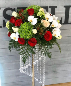 Simple charm centerpiece