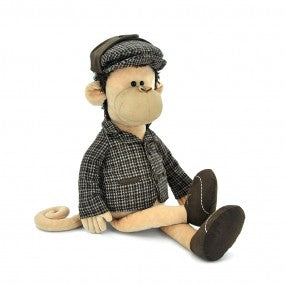 Soft toy Sherlock the monkey