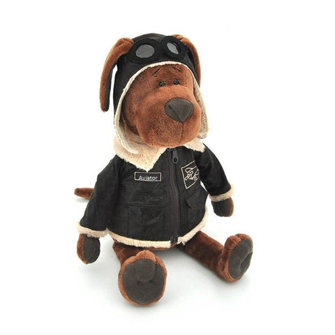 Soft toy Cookie the aviator dog