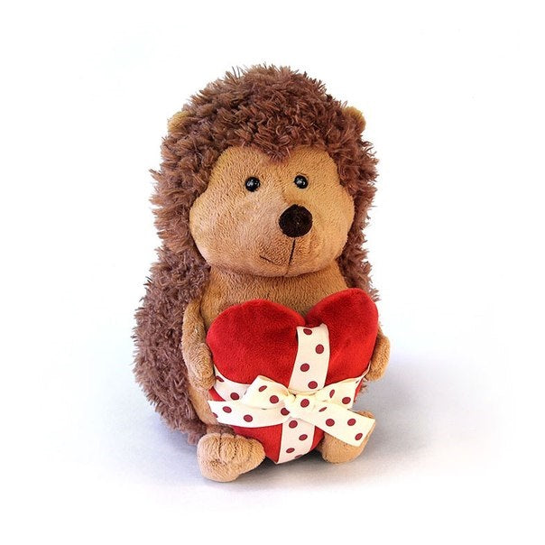 Soft toy Hedgehog Prickly with heart