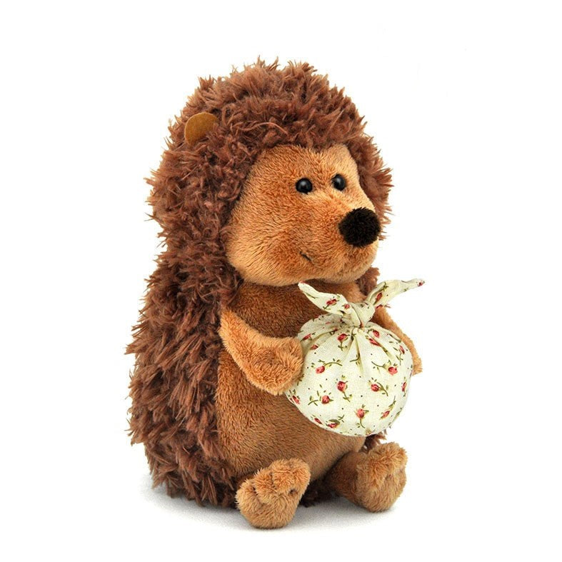 Soft toy Hedgehog Prickly with knapsack