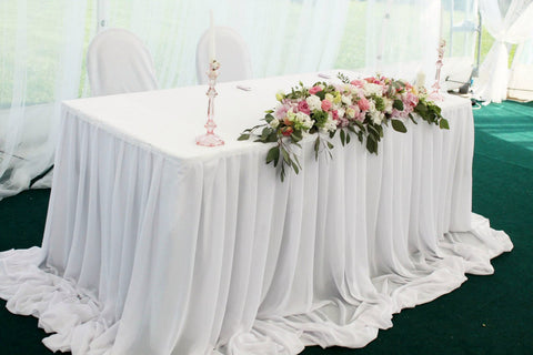 sweetheart table, wedding decoration