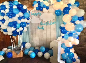 """Sweet cloud"" balloons decorations"
